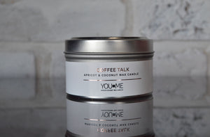 Coffee + Talk Candle Tin