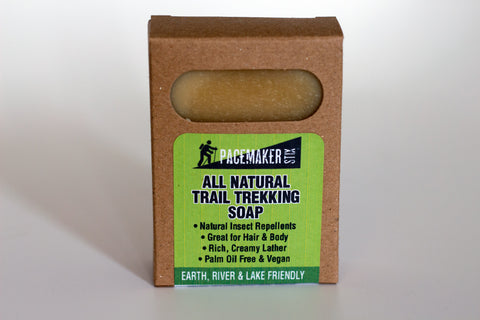All Natural Trail Trekking Soap