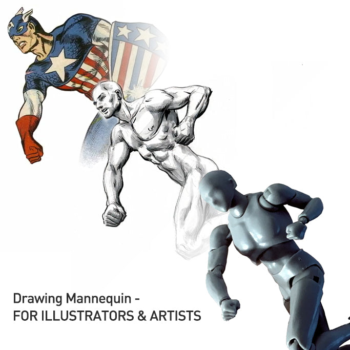 Drawing Mannequin - FOR ILLUSTRATORS & ARTISTS