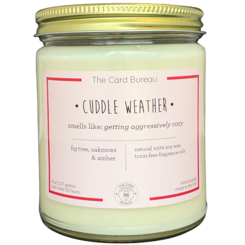 Cuddle Weather Candle