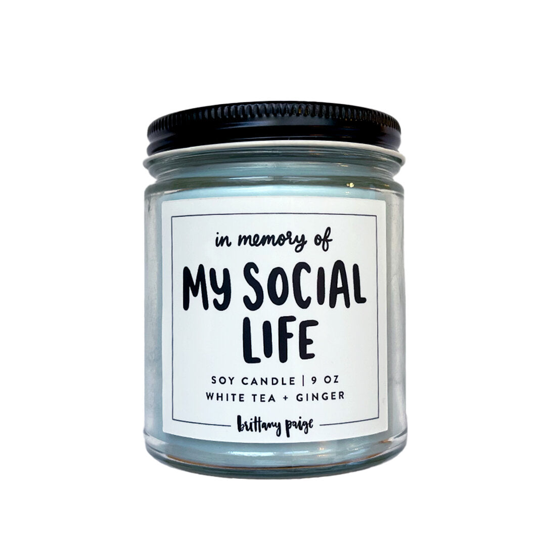 My Social Life Candle