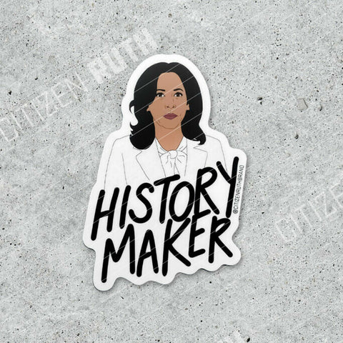 Kamala History Maker Sticker