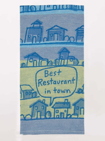 Best Restaurant Town Dish Towel