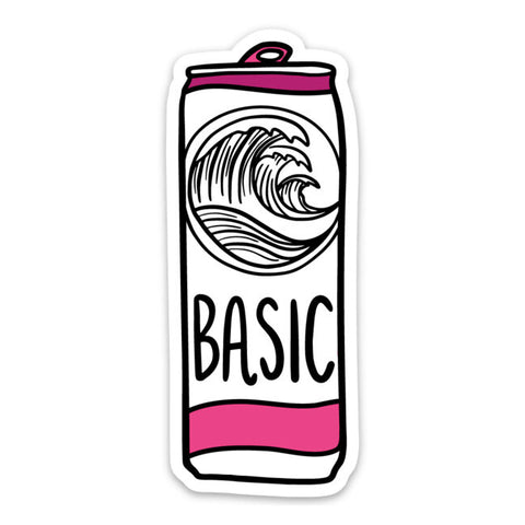 Basic White Claw Sticker