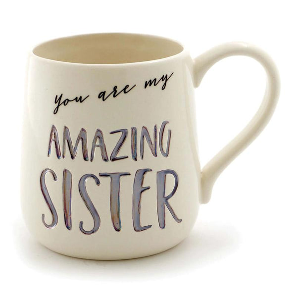 Amazing Sister Etched Mug