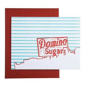 Baltimore Domino Sugars Card