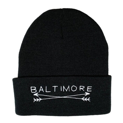 Baltimore Beanie (Black)