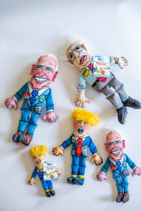 Political Parody Dog Toys