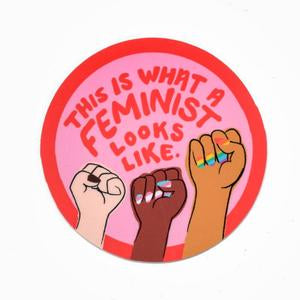 What a Feminist Looks Like Sticker