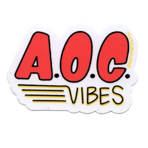 AOC Vibes Sticker