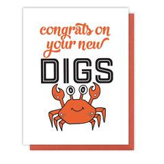 Crab Digs Card