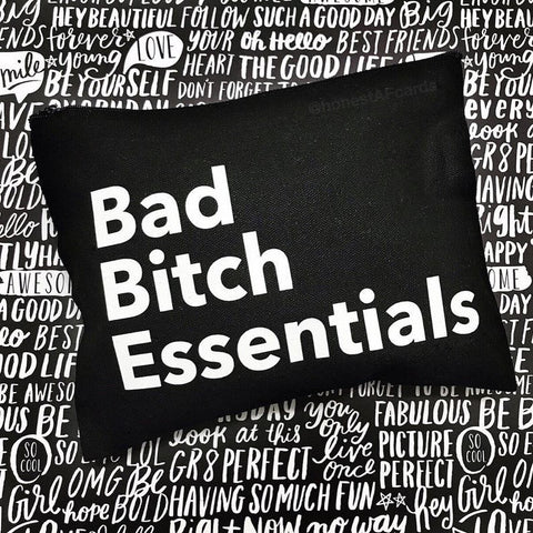 Bad Bitch Essentials Pouch