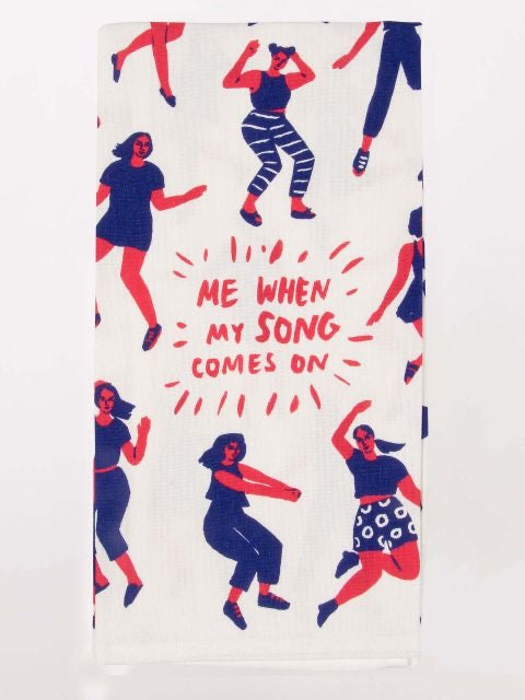 Song Comes On Dish Towel