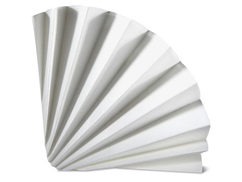 Fluted Filter Paper 24 cm 100/box- Vicam