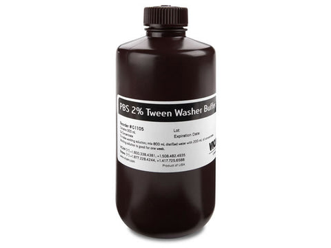 5X Concentrate of 2% Tween PBS 300 ml
