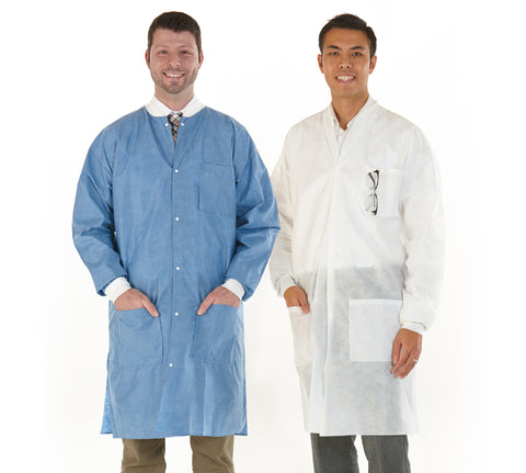 Medicom Safewear™ High Performance Lab Coats, 12/pack