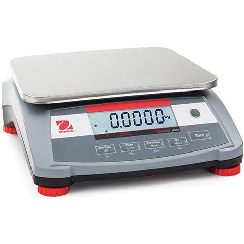 Ohaus Ranger 3000 Compact Bench Scale 3 kg x 0.1 g