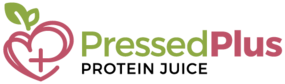 Pressed Plus Protein Juice Logo Colour