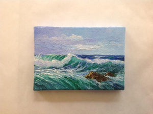 Mendocino Seascape Miniatures - The Highlight Gallery
