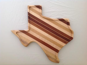 Texas shaped serving tray