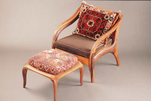 Lounge Chair and Footstool - The Highlight Gallery