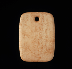 Birds eye maple cutting board 14