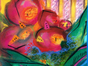 Fruit Bowl, pastel