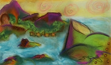 Load image into Gallery viewer, Plum Islet, pastel