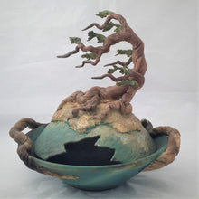 Load image into Gallery viewer, Cypress Covered Bowl