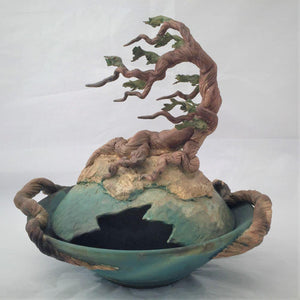 Cypress Covered Bowl