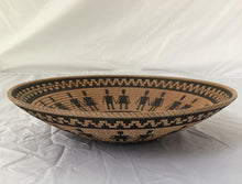 "Load image into Gallery viewer, Hopi design ""Basket Illusions"" bowl 11"""