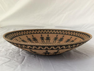 "Hopi design ""Basket Illusions"" bowl 11"""