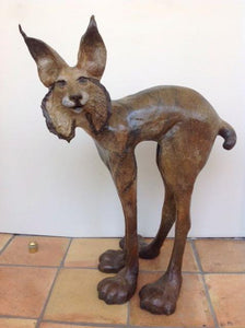 El Gato Grande, bronze sculpture - The Highlight Gallery