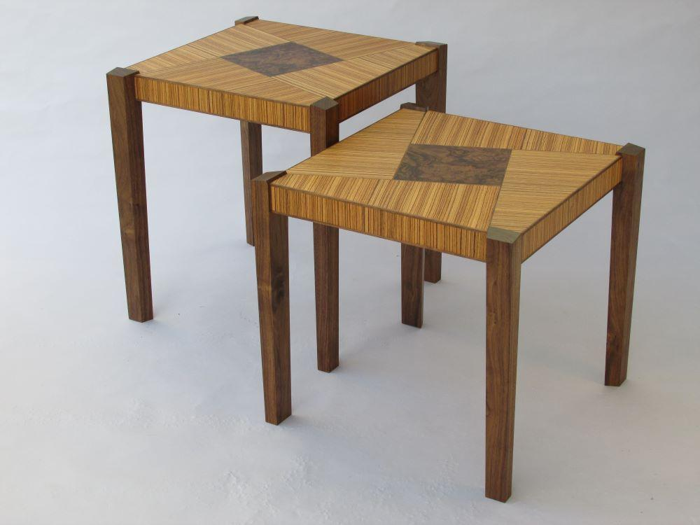Trapezoid Nesting Tables-Custom Order