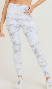 Ice Camo Highwaisted Leggings