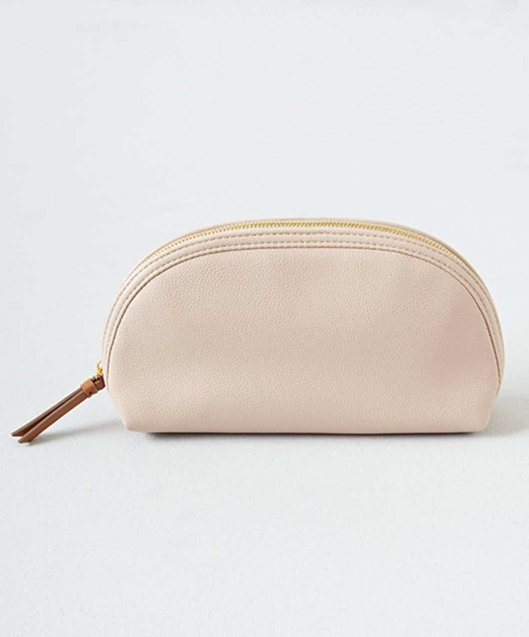 Vegan Leather Cosmetic Pouch