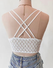 Load image into Gallery viewer, Magnolia Bralette (White)