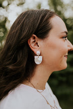 Load image into Gallery viewer, Arkansas Handmade Clay Earrings
