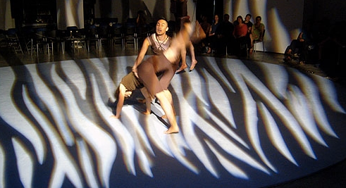 Co. Erasga Dance Company, BodyGlass, Centre A, Vancouver, Canada. 2007/08