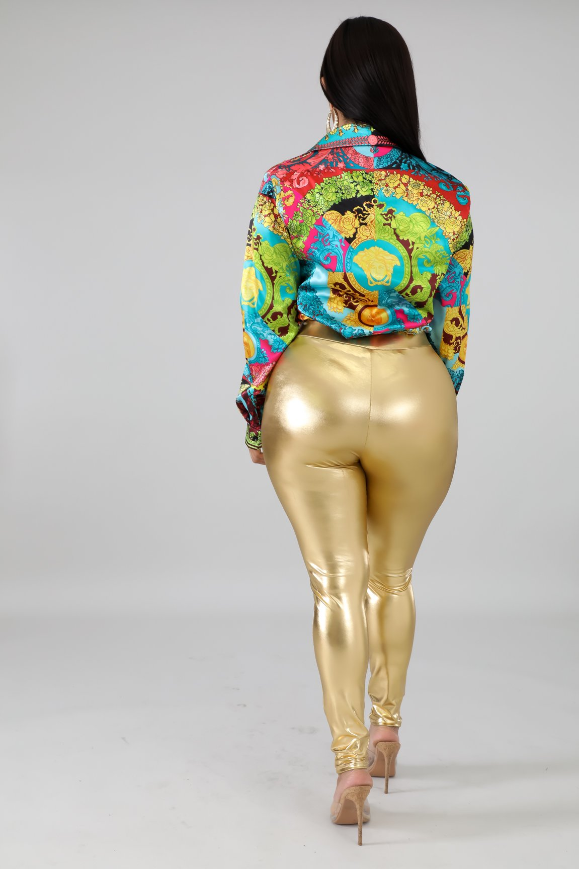 Solid Gold Pants
