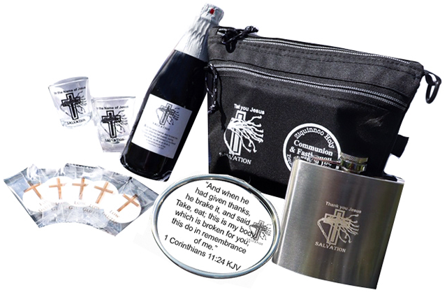 Customized Travel Size Communion Set
