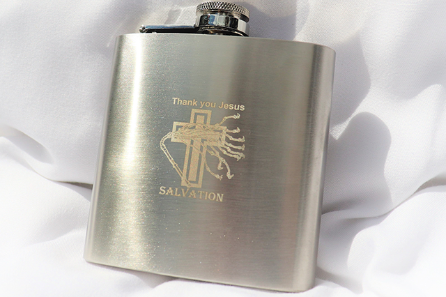 Salvation juice Flask