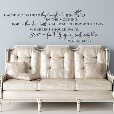 Christian Decals Bible Verses Wall Stickers