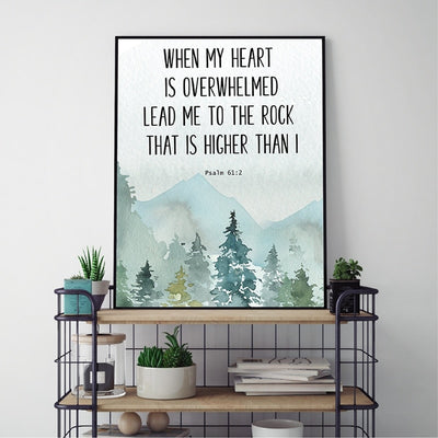 Christian Wall Art Canvas