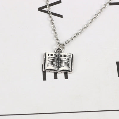 Mini Holy Bible Necklace