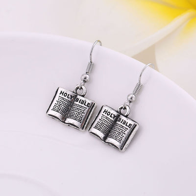 Drop Earrings - Bible Earrings | Salvation