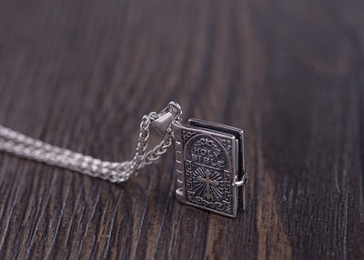 Biblical Books Pendant Necklace