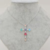 Luxurious Cross Pendant Necklace