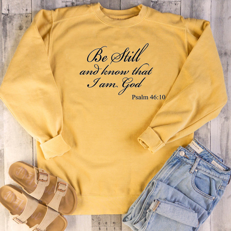 Quote Bible Christian Cotton Sweatshirt