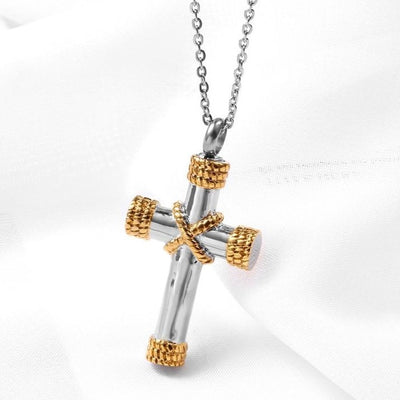 Christian Bible Cross Pendant